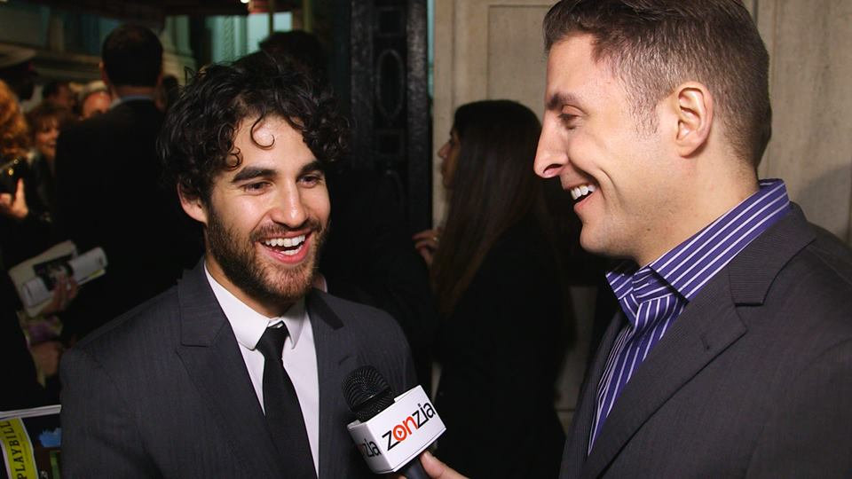 Great talking w/ Darren Criss about the end of #Glee and becoming the next #Hedwig on Broadway! http://t.co/M2pSAw2etM