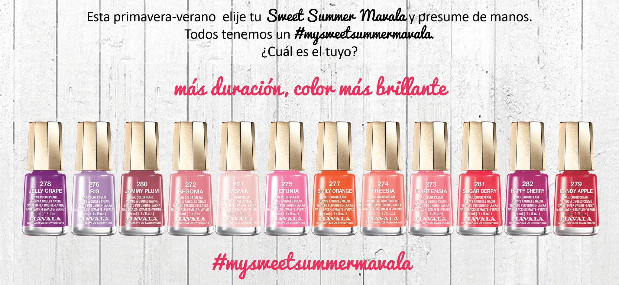 esmalte, manicura, nail art, blog de manicura, blog de belleza, mavala, sweet summer,