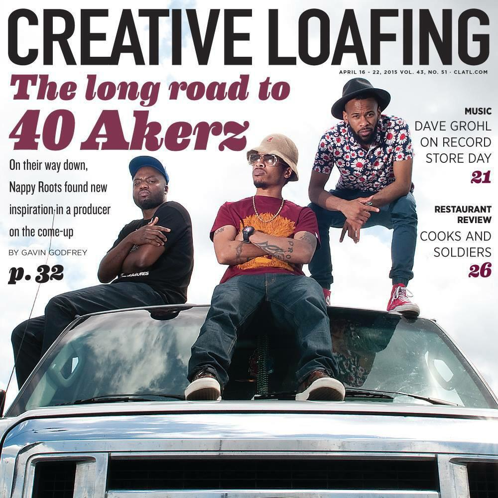 @808BlakeofSMKA is on the cover of @cl_atlanta w/ @NappyRoots for the#40akerzproject album http://t.co/apE7rH8zsI http://t.co/OCv41xsHVp
