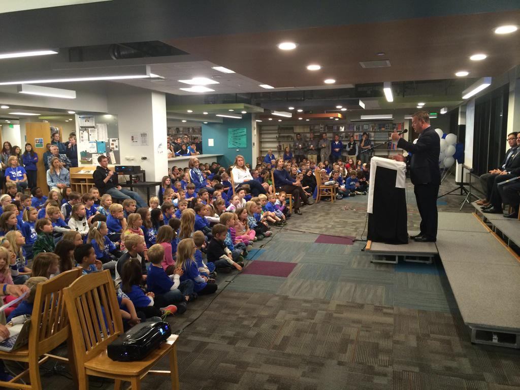 Denver Christian School celebrates 100 years on its new Lakewood campus. #9news