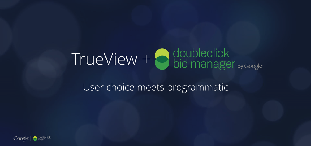 Announcing: TrueView is coming to DoubleClick - user choice meets #programmatic. #ProgIOSF http://t.co/sNbUxFfD0I http://t.co/T78Q9wiJAV