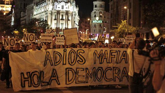 Mañana a las 19h concentración frente a Génova porque queremos que caigan todos #FueraLaMafia17A http://t.co/ncIsFjziGE
