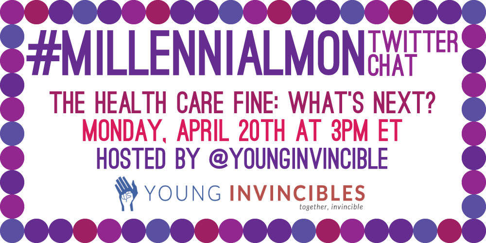#TaxSeason is over - but tune into #MillennialMon to find out what's next when it comes to the #ACA fine! http://t.co/HFmW80kHRY
