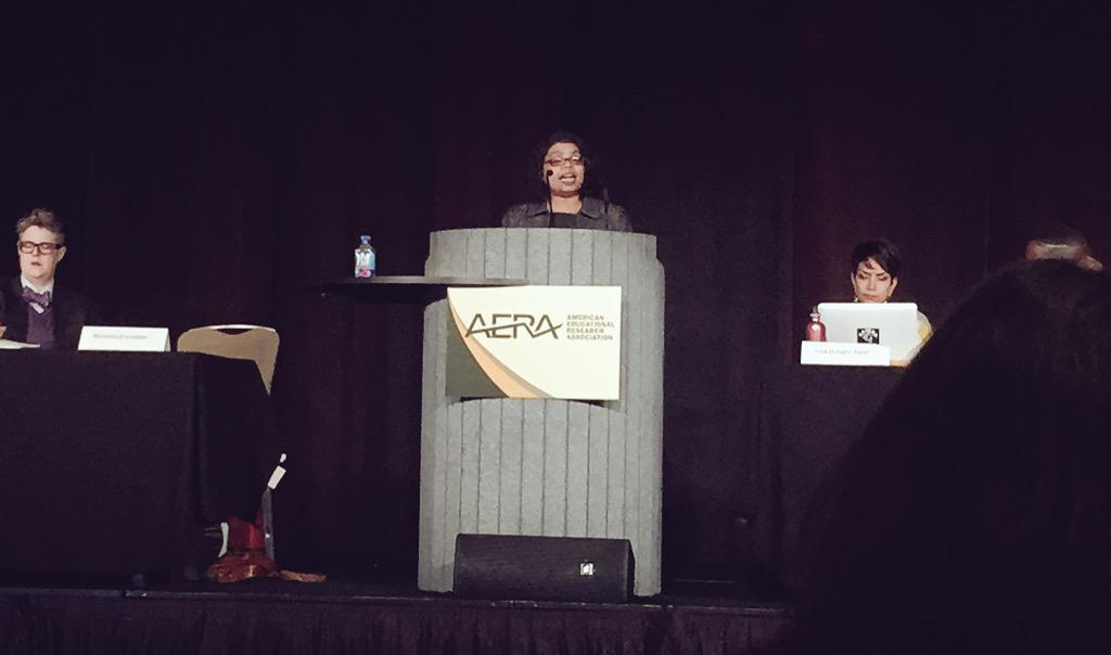 """""""Disability is a social & political category tht needs to be understood within social justice and difference"""" #Aera15 http://t.co/JfHWLCkrsW"""