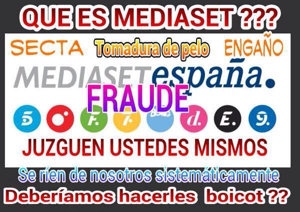 #BoicotMafiaMediaset http://t.co/UEyXn6vuYI
