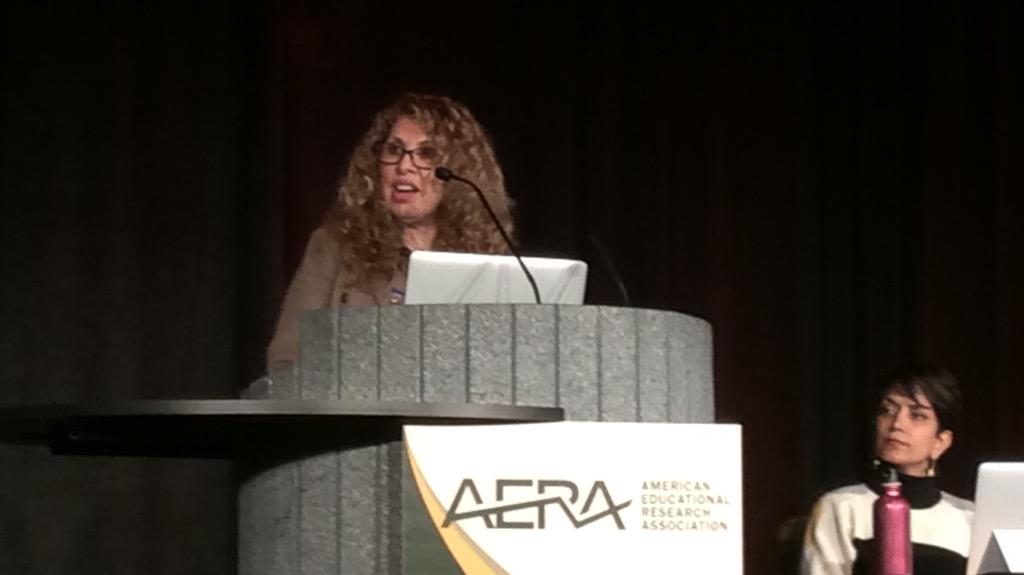 Kris D. Gutiérrez: We need new conceptions of learning - learning is dignity conferring. #AERA15 #towardwhatjustice http://t.co/VqauvmNXdv