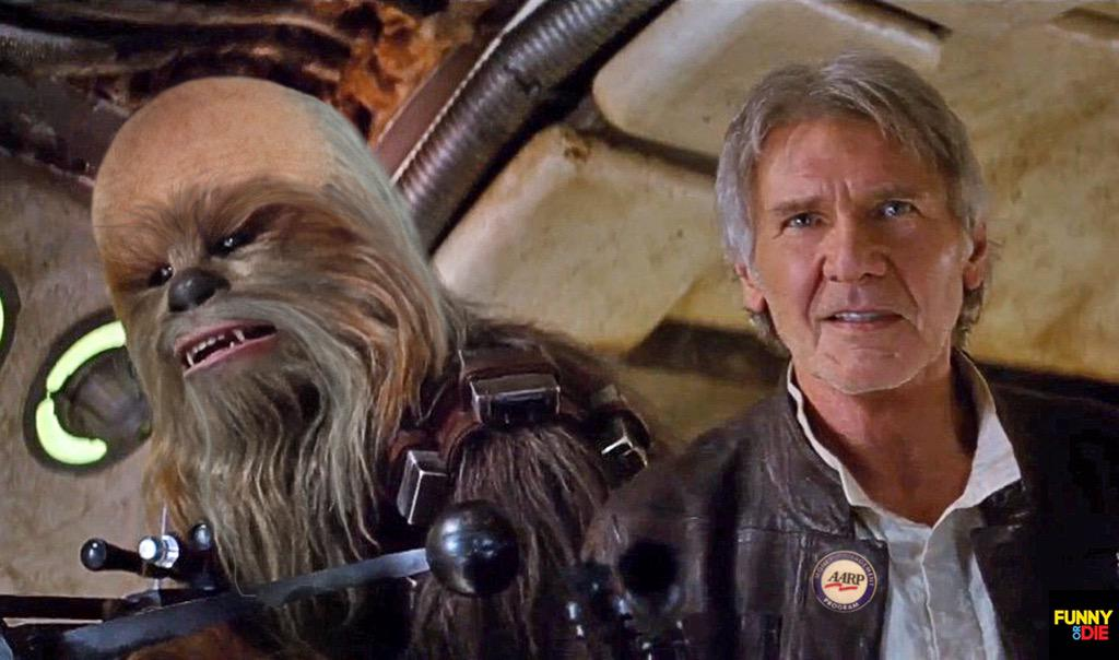 Funny or die on twitter chewbacca and han solo are - Vaisseau star wars han solo ...