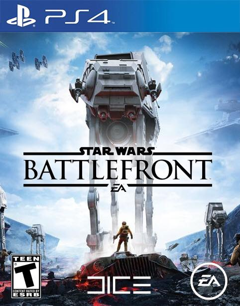 star wars battlefront ps4 box art image ps4. Black Bedroom Furniture Sets. Home Design Ideas