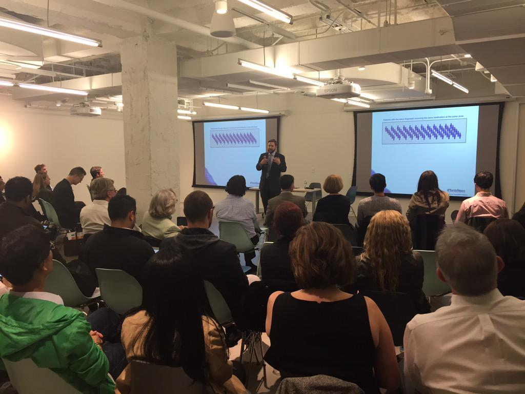 Talking how DNA helps find Rx right for u. Mark Dunnenberger, PharmD with @NorthShoreWeb #NSNextMed @MATTERChicago http://t.co/2MGZ2iXKoA