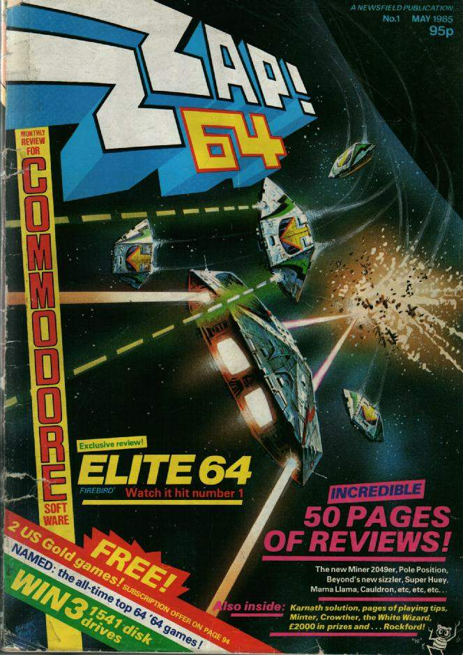 It's ZZAP! 64's 30th birthday this week. Can't believe it's been three decades since the first issue. Great memories! http://t.co/dbGImua0oh