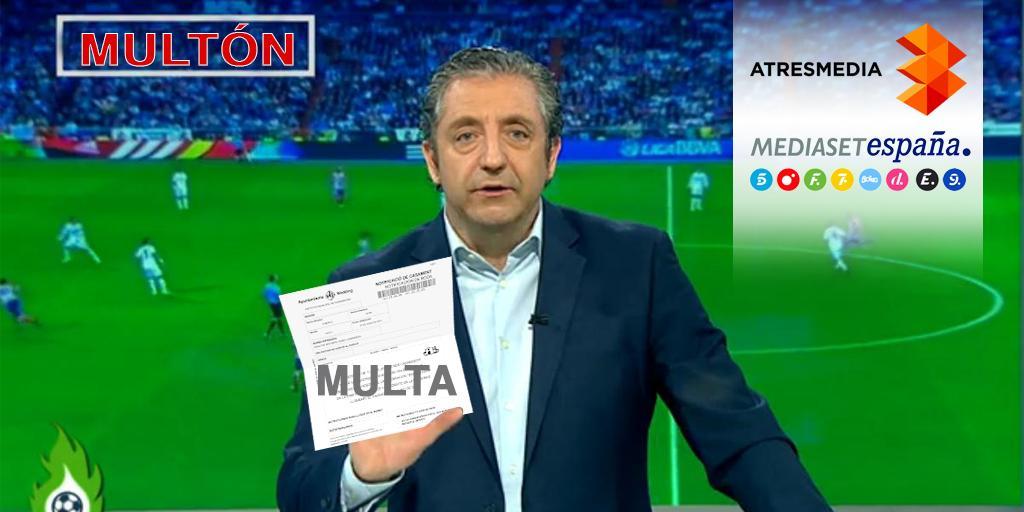 La CNMC multa a @elchiringuitotv con 136.800 euros por sobreimprimir publicidad http://t.co/j82oUgoK9Y http://t.co/ICm74j1KE4