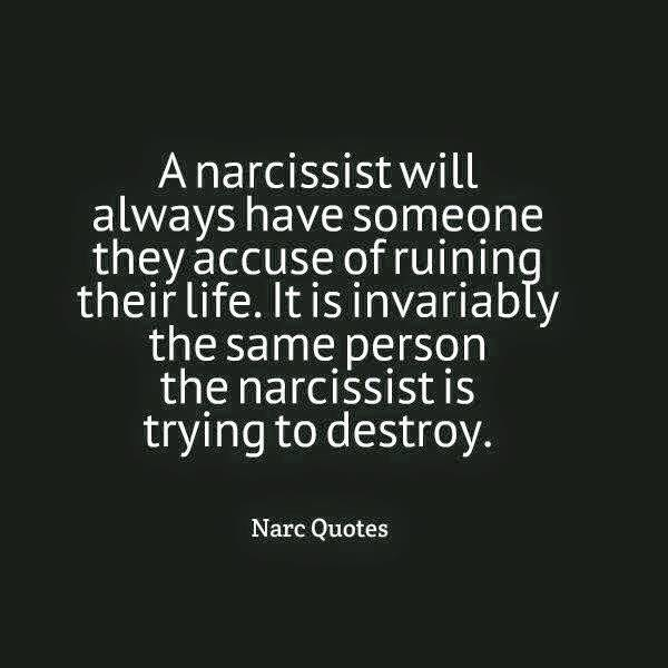 how to get back at a narcissistic person