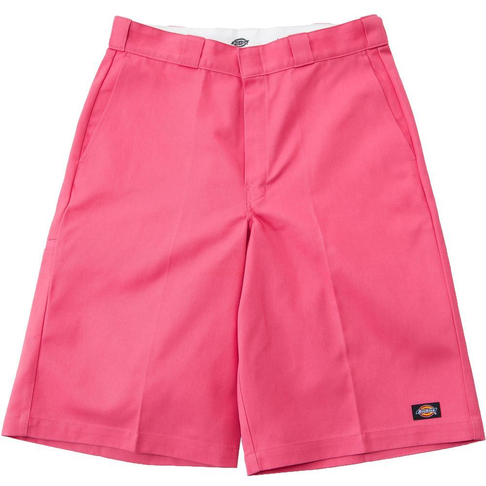 去年発売され大人気だった42283日本別注カラーに、新色が登場!!カラーはピンク・イエローの2色。詳細は追ってアップしていきます!! #dickies #ディッキーズ #42283ハーフパンツ http://t.co/wyAEi2cayg