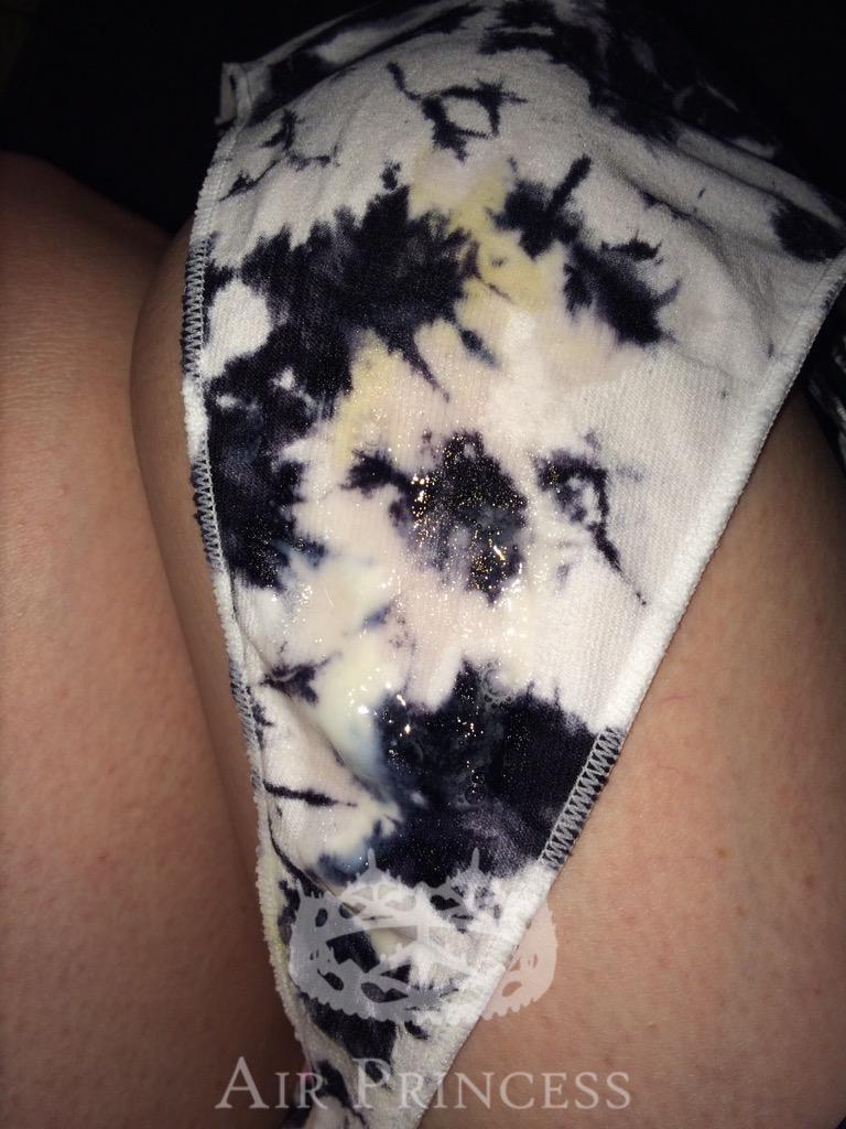 Wet Creamy Panties 33
