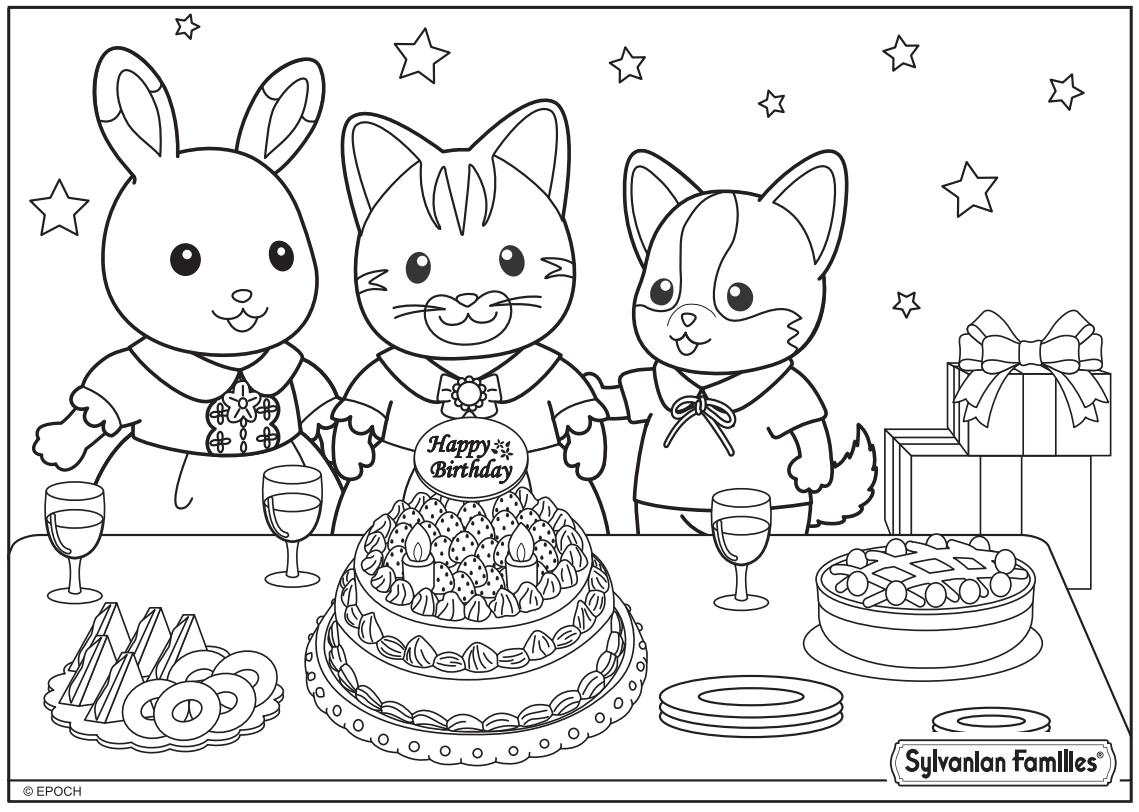 Sylvanian Families On Twitter Have You Got Your Colouring Sheets Ready For Tomorrow At HamleysToys Dont Forget To Try And Stay In The Lines
