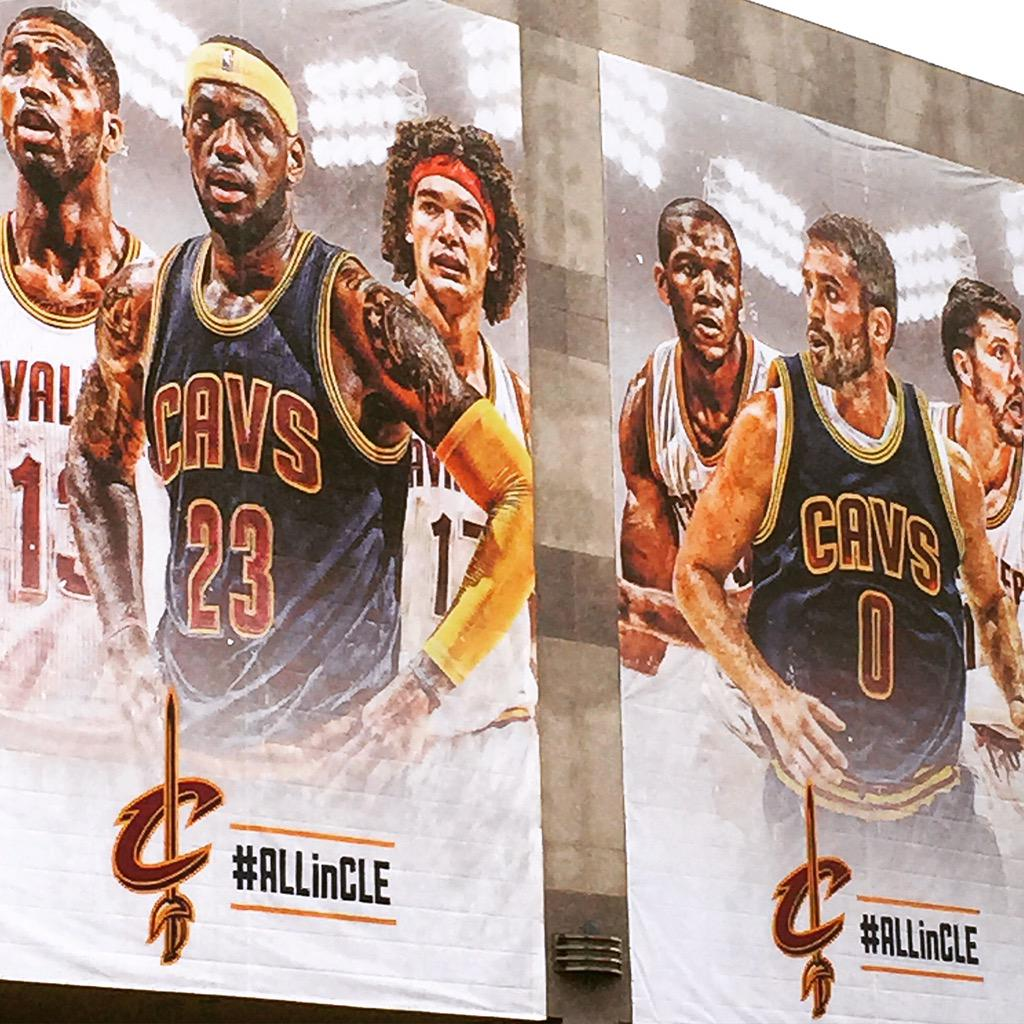 Retweet for a chance to win 2 tix to Sunday's first @cavs playoff game! #thisiscle  #ALLinCLE http://t.co/qWINkA4teO