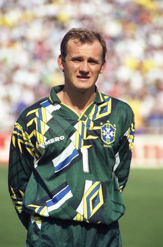 #ViernesTemáticoLaCasaca #CamisetasDeArquero Hermosa camiseta de Taffarel Mundial 94' http://t.co/2gq04scWfU