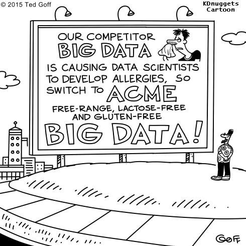 Cartoon: A solution for Data Science allergies caused by Big Data