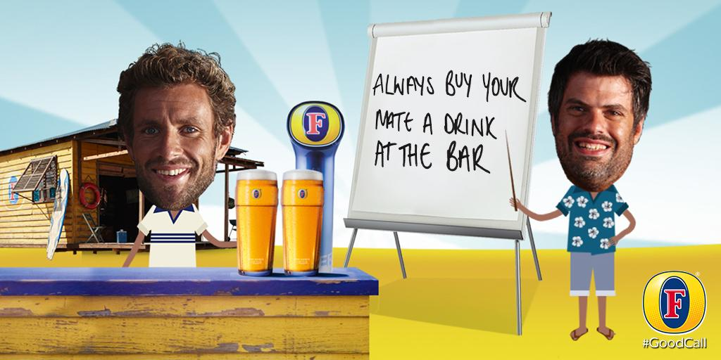 Aussie Rules:  Your pay cheque's just for the month, but your mates are for life. http://t.co/TpqTzUeKlh