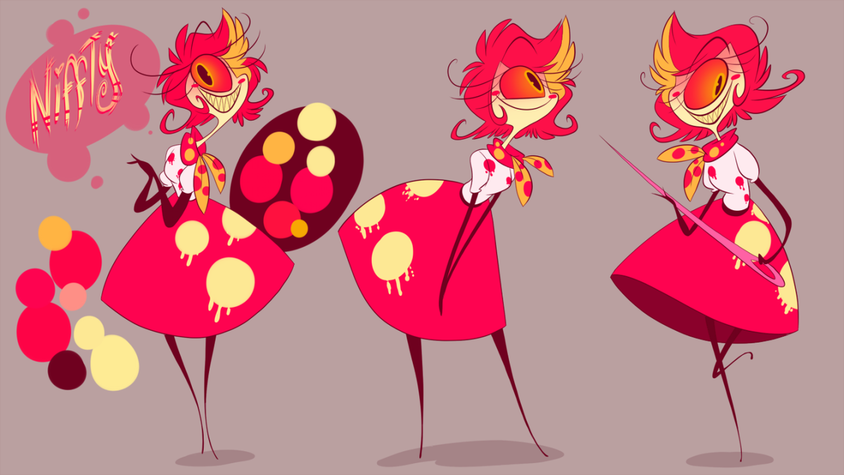 Vivienne m on twitter quot niffty animatable ref i feel like she will
