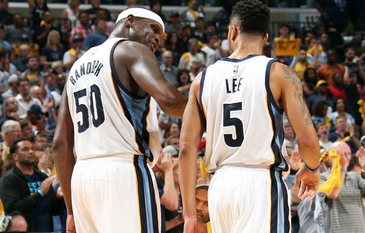 Zach Randolph and Courtney Lee