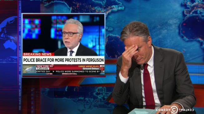 Jon Stewart Is Embarrassed For CNN Host Wolf Blitzer's Baltimore Takes (VIDEO) @TPM http://t.co/HYzxQNu4eC http://t.co/sB2FJZCZek