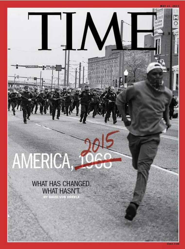 Hay portadas cargadas de significados. La de la hoy de Time es una de ellas. (vía @antonigr) http://t.co/MP4C9uq8mO