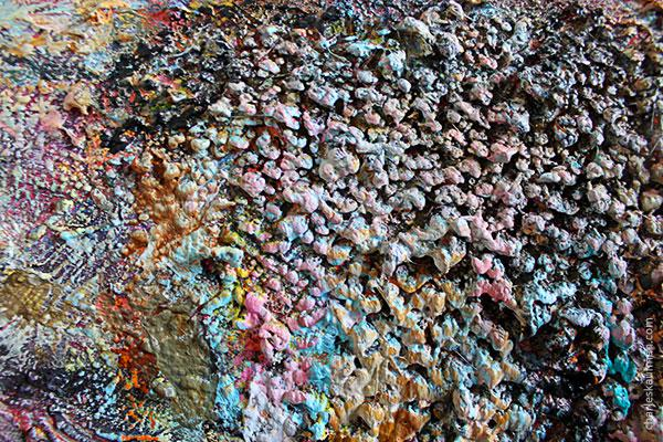 One artist's abstract painting is another artist's paint brush cleaning wall... #abstract #art http://t.co/zHTBOYJgpz