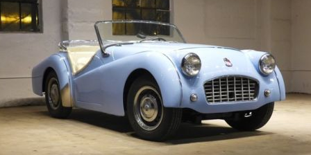 Ebay Motors On Twitter This 57 Triumph Tr3 Needs A Happy Home
