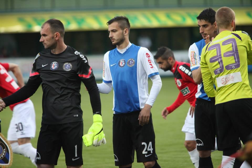 Boban Nikolov (#24) returned to action