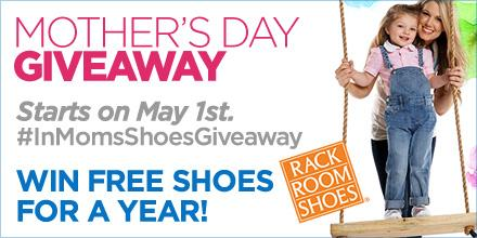 We're celebrating Moms & their wisdom! Join us May 1st for an #InMomsShoes Twitter party and #giveaway at 10 AM EST! http://t.co/00ETLGpSP0
