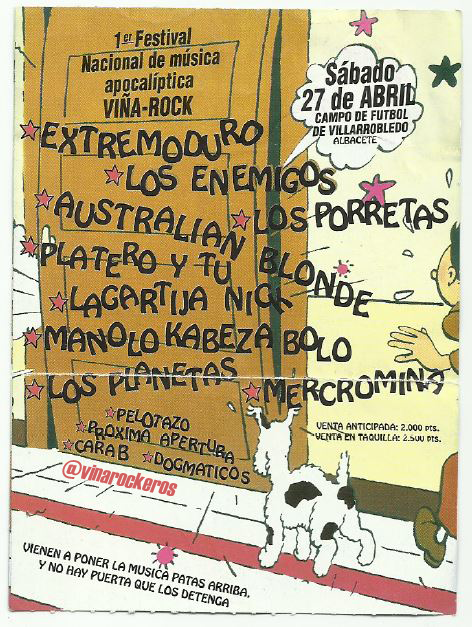 Viña Rock - 25 Aniversario -  CD2L_muWgAAE7ut