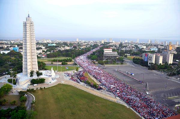 One million Cubans to march on May Day in Havana