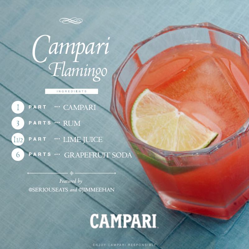 Campari Flamingo Cocktail Recipes — Dishmaps