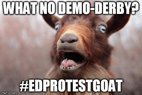 EDProtestGoat
