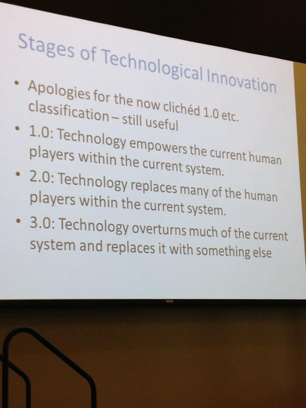 #futurelaw Three stages of technological innovation http://t.co/g1Kt9HiZ37