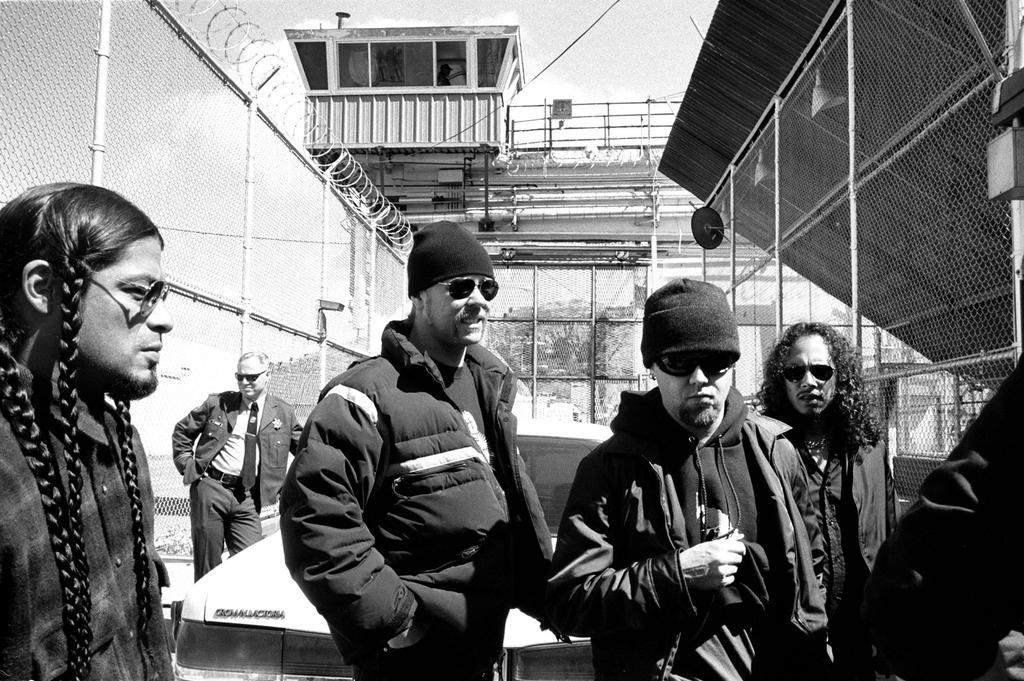 metallica video in prison