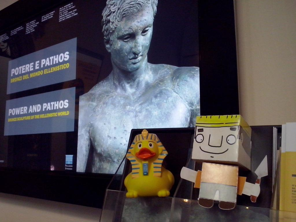 Paperofi I con @archeostorie a @palazzostrozzi #PotereePathos #bronzifirenze http://t.co/Oqy3CkELSb