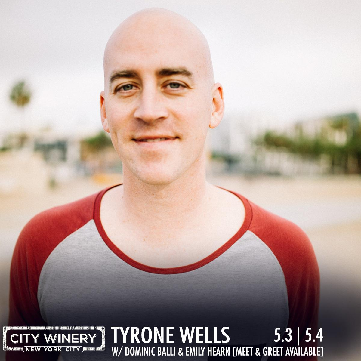 Retweet for a chance to win 2 tix to @tyronewells w/ @dominicballi & @emilyhearn on 5/4!Winners will be notified Fri! http://t.co/xAPnCDAceD