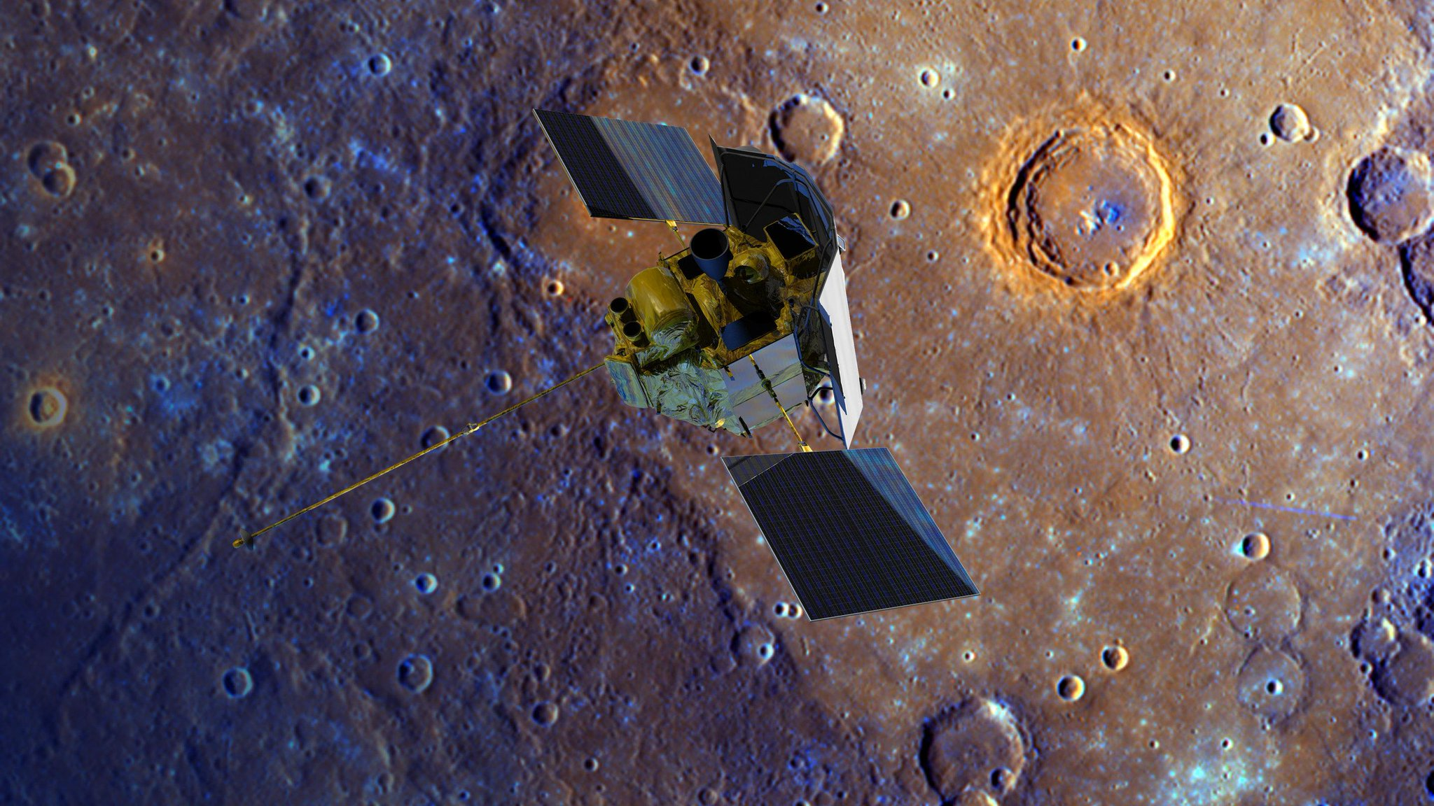 messenger spacecraft launch date - 900×600