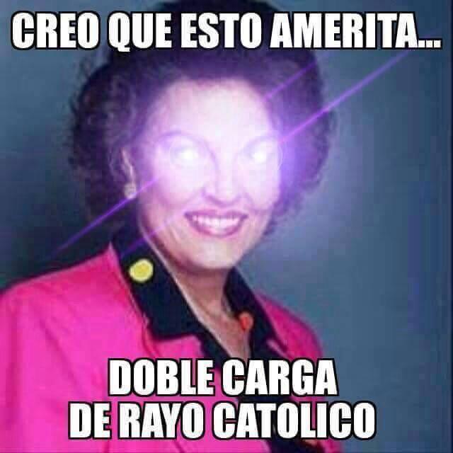 Resultado de imagen de rayo catolico