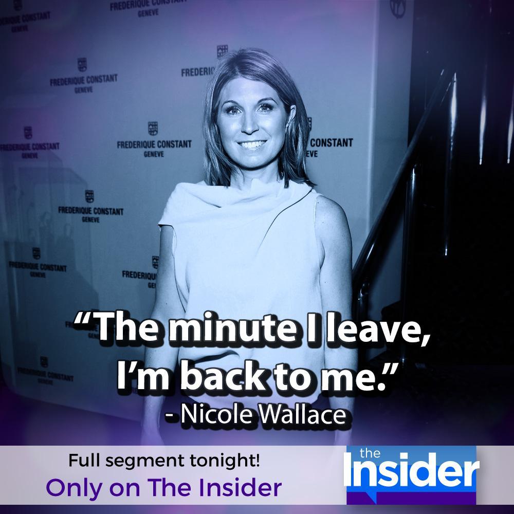 """The Insider on Twitter: """"Tonight, Nicole Wallace talks ..."""
