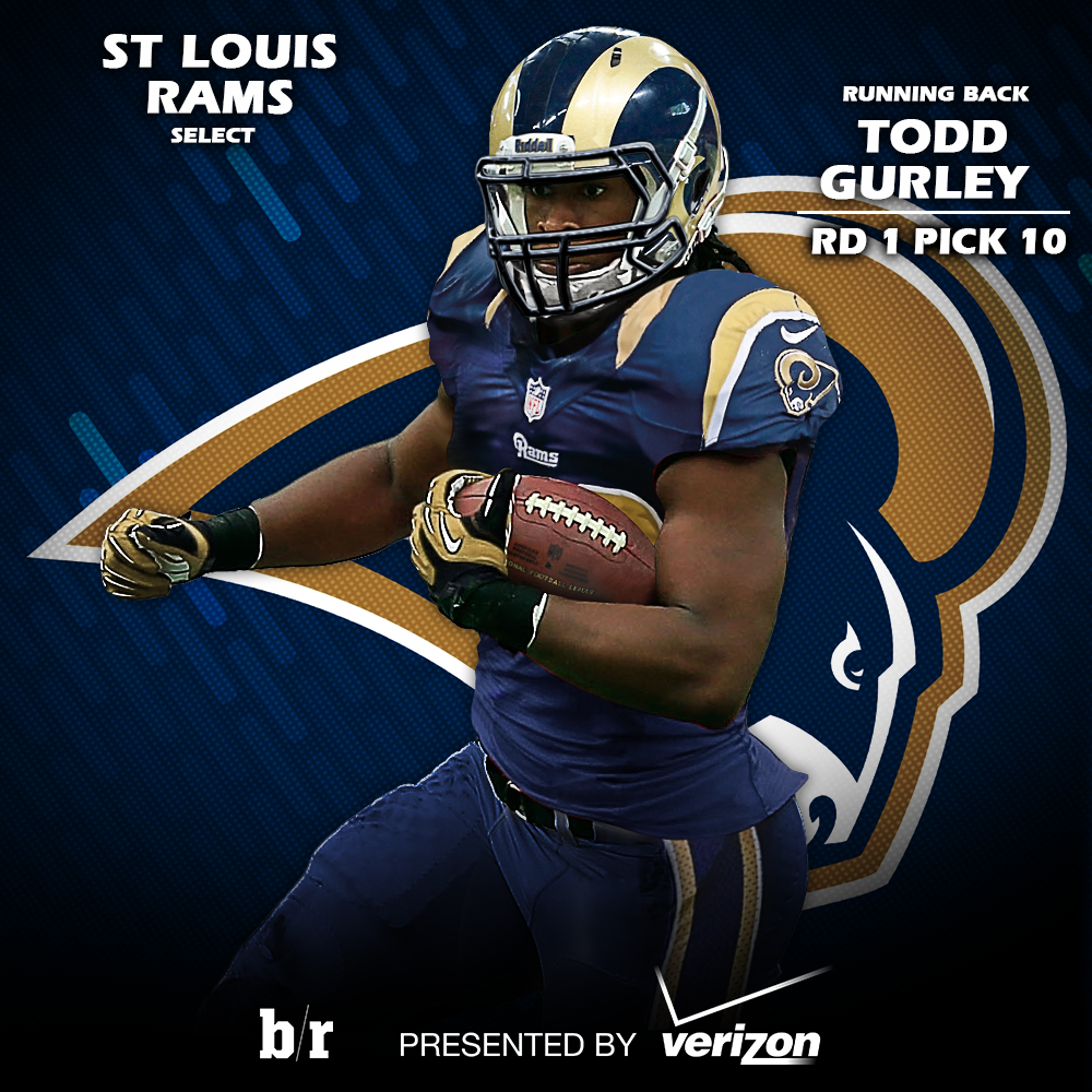 Bleacher Report On Twitter Quot First Look At Todd Gurley In