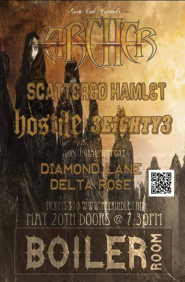 May 20th @boileronelm we present @scatteredhamlet @ArcherNation @DiamondLane & @DeltaRoseUSA  http://t.co/fbFSFCx5XW http://t.co/n2cIX2NSZC