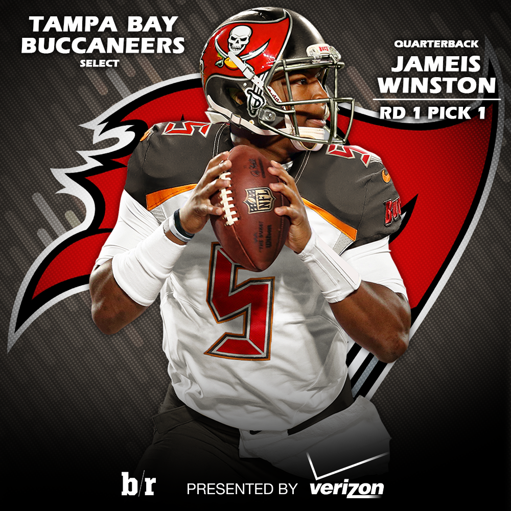 "Tampa Bay Buccaneers: Bleacher Report On Twitter: ""With The First Pick In The"