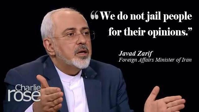 Many Iranians (including his fans) in social media are upset by @JZarif for telling this lie at @charlierose http://t.co/NAiWeFMx0g
