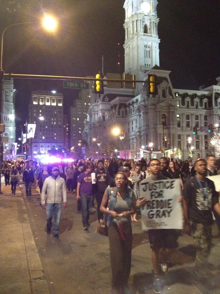 Still a very large march, down JFK #phillyisbaltimore http://t.co/P7PjD91E0p