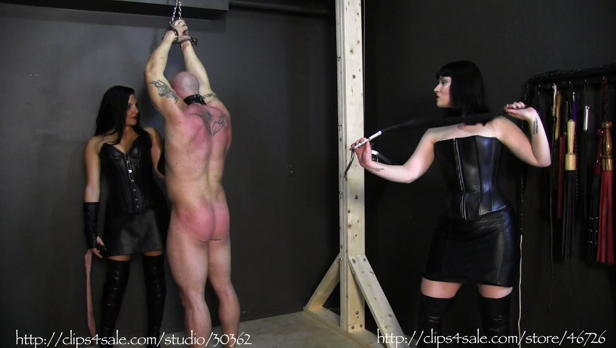 Cbt my lady whipps my cock and balls with 2 different whipps - 3 part 1
