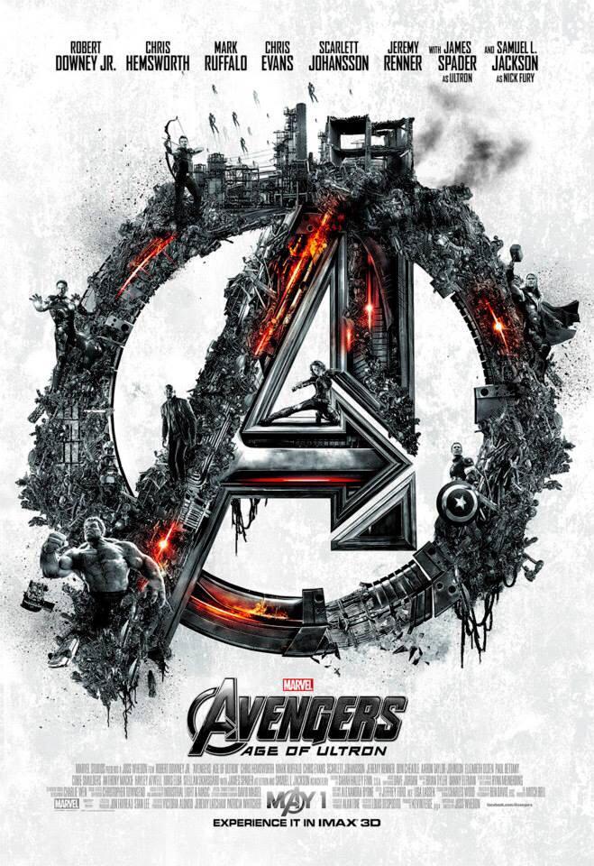 Finished seeing @Avengers #AgeOfUltron -with @chrishemsworth @ChrisEvans @SamuelLJackson @MarkRuffalo @RobertDowneyJr http://t.co/jVT9yKp2vB