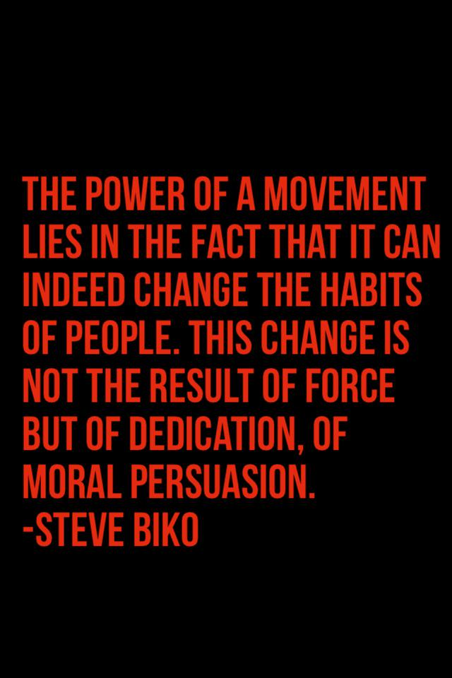 The power of a movement lies in the fact that it can indeed change the habits of pe http://t.co/aWS3q0d2DZ http://t.co/NoQGzuLXJK